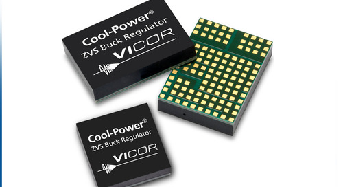 New Cool-Power ZVS Buck Regulator Extends Vicor's 48V Direct-to-Point of Load Portfolio