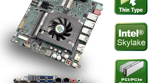 Mini-ITX CPU board tKINO-ULT3: Flat and powerful