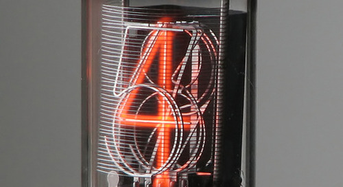 Nixie tubes: Vintage tech for today
