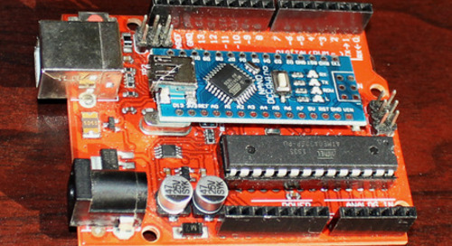 Arduino development boards: The Nano