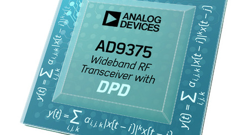 Analog Devices' RadioVerse transceivers help migrate from 4G to 5G