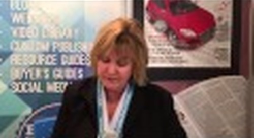 Scenes from Embedded World 2015 - Lynda Kaye, Hughes Communications