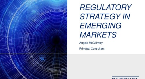 Regulatory Strategy In Emerging Markets