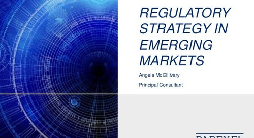 Regulatory Strategy In Emerging Markets