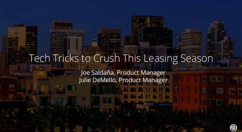 Tech Tricks to Crush Leasing Season
