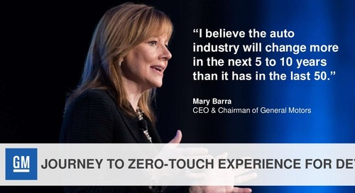 Journey to Zero-Touch Experience for Developers