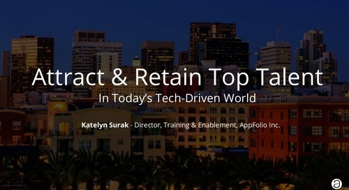 Attract & Retain Top Talent in Today's Tech-Driven World