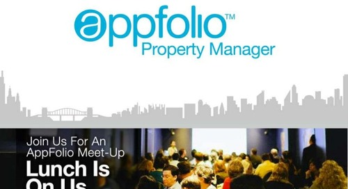 AppFolio Orange County Meet-up Presentation