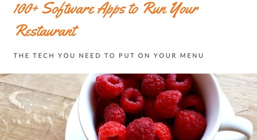 100+ Software Apps to Run Your Restaurant