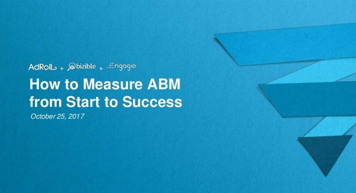 How to Measure ABM from Start to Success | Engagio