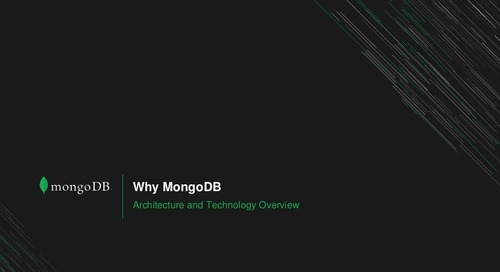 MongoDB.local Atlanta: MongoDB on Z
