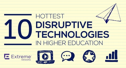 10 Hottest Disruptive Technologies in Higher Education