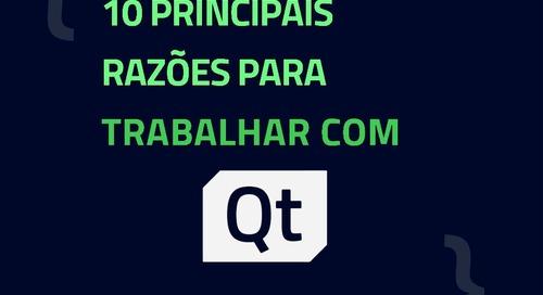 10 PRINCIPAIS RAZÕES PARA TRABALHAR COM