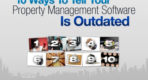 10 Ways to Tell Your Property Management Software is Outdated
