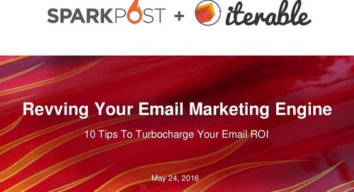 10 Tips to Turbochage Your Email ROI