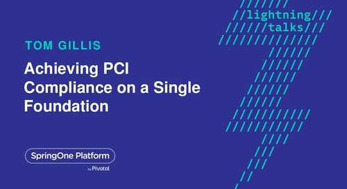 Achieving PCI Compliance On a Single Foundation