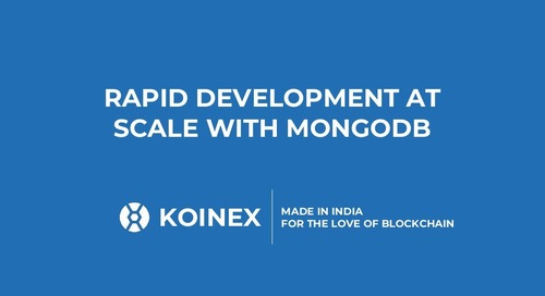 [MongoDB.local Bengaluru 2018] Rapid Development at Scale with MongoDB at Koinex