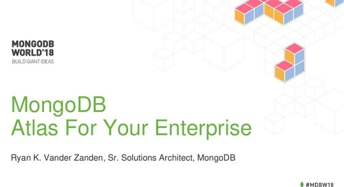 MongoDB Atlas for Your Enterprise