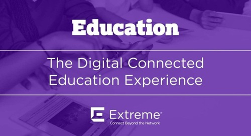 Higher Education and The Digital Connected Experience
