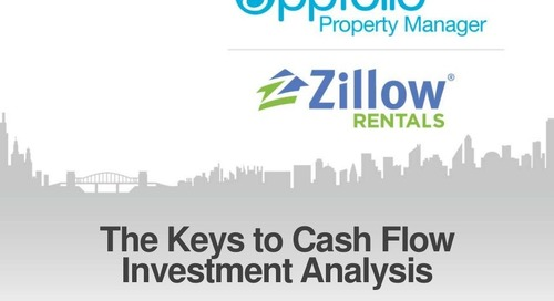 The Keys to Investment Cash Flow Anaysis