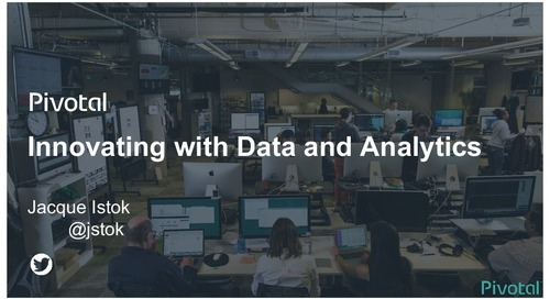Innovating With Data and Analytics