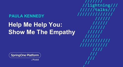Help me help you; show me the empathy