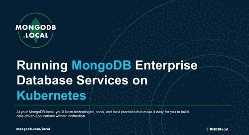 MongoDB.local DC 2018: MongoDB Ops Manager + Kubernetes