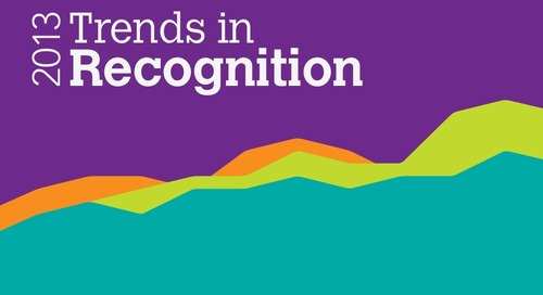 2013 Trends in Recognition