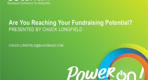 Are You Reaching Your Fundraising Potential?