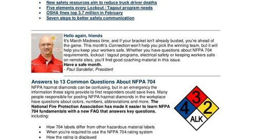 March 2015 ComplianceSigns Connection Newsletter