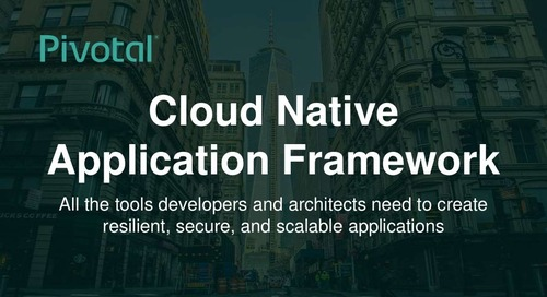 Cloud-Native Application Framework