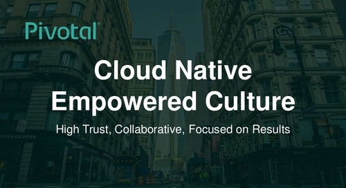 Cloud-Native Empowered Culture