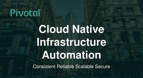 Cloud-Native Infrastructure Automation