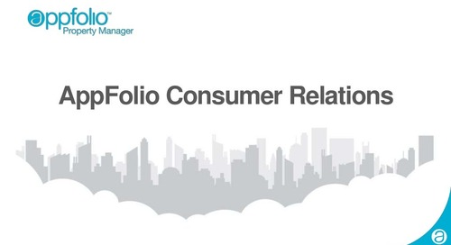 AppFolio Consumer Relations Team (Customer Webinar)