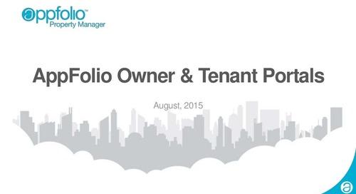 AppFolio Owner & Tenant Portals (Customer Webinar Recap)