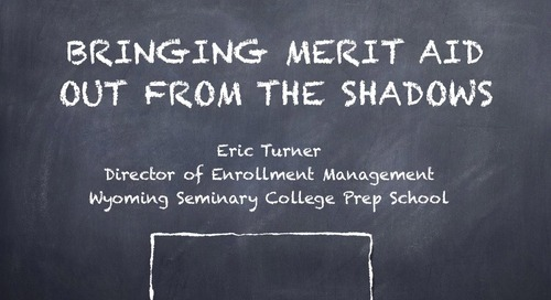 Bringing Merit Aid Out of the Shadows