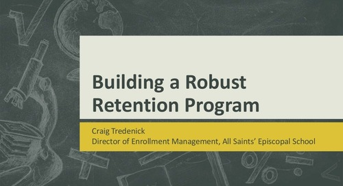 Designing and Implementing a Robust Retention Program