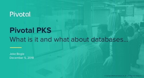 Data Warehouse embraces Kubernetes and Modernized Data Platforms with VMware Tanzu Greenplum