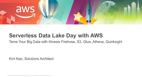 Serverless Datalake Day with AWS