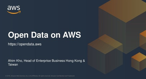 Open Data on AWS