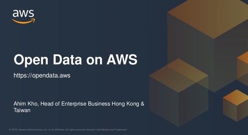 Open Data on AWS