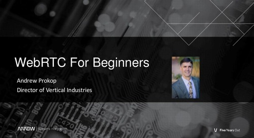 WebRTC for Beginners Webinar Slides