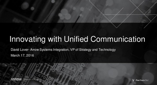 Innovating with Unified Communication Webinar Slides
