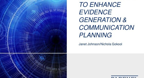 Exploring Ways to Enhance Evidence Generation & Communication Planning