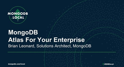 MongoDB.local DC 2018: