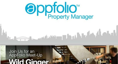 Seattle AppFolio meetup