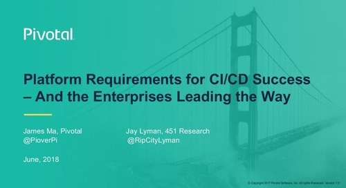 Platform Requirements for CI/CD Success—and the Enterprises Leading the Way