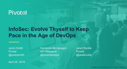 InfoSec: Evolve Thyself to Keep Pace in the Age of DevOps