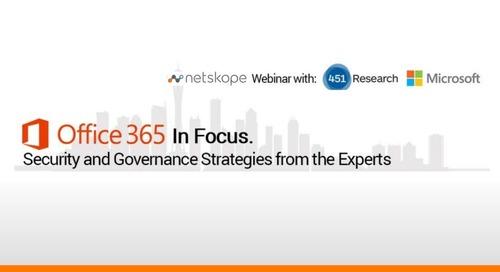 Office 365 Webinar Slides: Security & Governance Strategies
