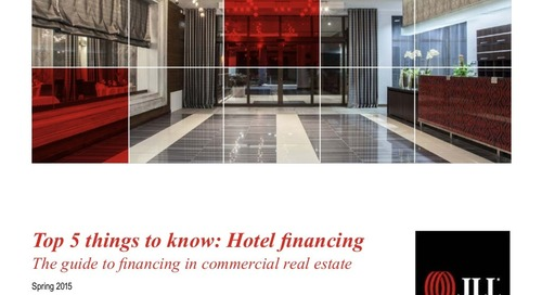 5 things to know about hotel financing in 2015